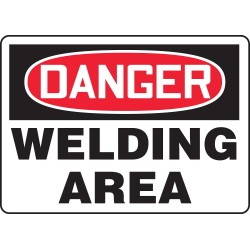 Accuform Signs - MWLD017VP - Danger Sign, 10 x 14In, R and BK/WHT, PLSTC