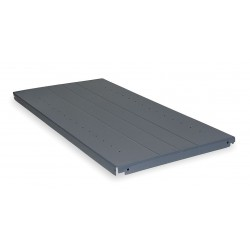 Edsal - 1038D - 96 x 96 Ribbed Steel Deck Only, Gray; For Use With Bulk Storage Rack
