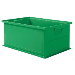 SSI Schaefer - 1462.191308GN1 - Straight Wall Container, Green, 8H x 19L x 13W, 1EA