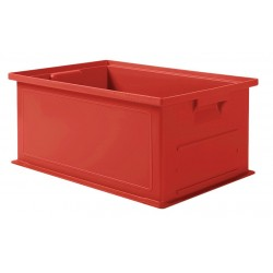 SSI Schaefer - 1462.191308RD1 - Straight Wall Container, Red, 8H x 19L x 13W, 1EA