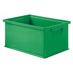 SSI Schaefer - 1463.130906GN1 - Straight Wall Container, Green, 6H x 13L x 9W, 1EA