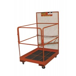 Ballymore / Garlin - FD-48-C-KD - Garlin Maintenance Platform Knock Down 48x36 Steel Orange, Ea