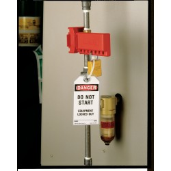 North Safety / Honeywell - Bs03b-each - Ball Value Lockout 2-8in Blue (each)