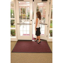 Andersen Company - 2240174620 - Wine PET Polyester Fiber, Entrance Runner, 6 ft. Width, 20 ft. Length
