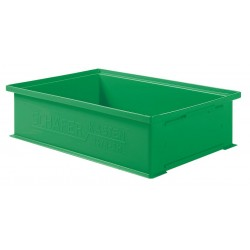 SSI Schaefer - 1462.191312GN1 - Straight Wall Container, Green, 12H x 19L x 13W, 1EA