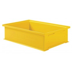 SSI Schaefer - 1462.191312YL1 - Straight Wall Container, Yellow, 12H x 19L x 13W, 1EA