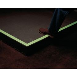 Harris - LB24902 - Glow-in-the-Dark Anti Slip Marking Tape, Solid, Continuous Roll, 2 Width, 1 EA