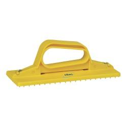 Vikan - 55106 - Yellow Pad Holder, Length 9, Width 3-3/4, 1 EA