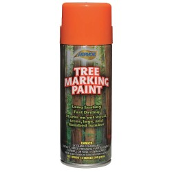 Aervoe - 620 - Tree Marking Aerosol Paint Aervoe Pacific Co. Orange Aervoe 12 Oz 40-100 Degrees F, Ea
