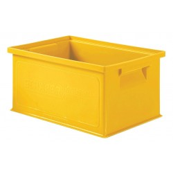 SSI Schaefer - 1463.130906YL1 - Straight Wall Container, Yellow, 6H x 13L x 9W, 1EA