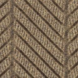 Andersen Company - 2271 TAN 8X10 - Khaki Recycled PET Polyester Fiber, Entrance Mat, 8 ft. Width, 10 ft. Length