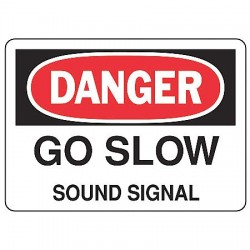 Accuform Signs - MVHR014VP - Danger Sign, 7 x 10In, BK and R/WHT, PLSTC