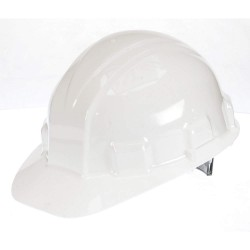 Jackson Safety - 14409 - Hard Hat, 6 pt. Ratchet Suspension, White, Hat Size: 6-1/2 to 8
