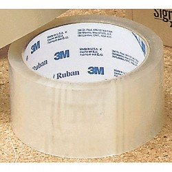 3M - 371 - 1500m x 72mm Polypropylene Carton Sealing Tape, Clear