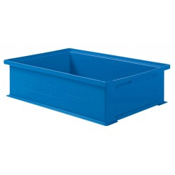 SSI Schaefer - 1462.191312BL1 - Straight Wall Container, Blue, 12H x 19L x 13W, 1EA