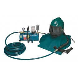 Allegro - 9285-01 - Supplied Air Pump Package, 3/4 HP, People Served: 1, Headgear Included: Nova 2000 Abrasive Blasting