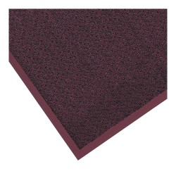 Notrax - 130S0035BD - Burgundy Decalon® Fiber, Entrance Mat, 3 ft. Width, 5 ft. Length