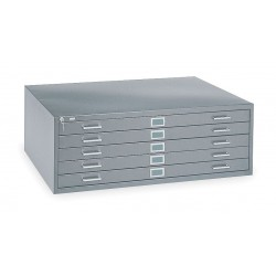 Edsal - 244881PU - 46-3/4 x 35-3/8 x 20 Open Flat File Open Cabinet Base, Putty; For 8YFG8