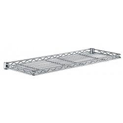 Metro (InterMetro) / Emerson - 1260CSNC - 60 x 12 x 1-1/4 Steel Cantilever Shelf, Silver; PK1