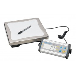 Adam Equipment - CPWPLUS-15 - Compact Bench Scale Cpw Plus 15 Kg 0.005 Kg +/- 0.01 Kg Adam Stainless Steel 110 Volt, Ea