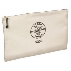 Klein Tools - 5336 - Contractor's Zipper Portfolio Bag, 12x17