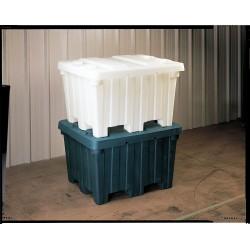 Orbis - BC4842-30 GRAY. - Bulk Container, Gray, 29-1/2H x 48L x 41-1/2W, 1EA