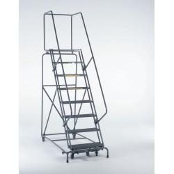 Ballymore / Garlin - 113214RSU - Safety Rolling Ladder, Steel, 110 In.H