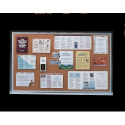 Ghent - 1323-1 - Bulletin Board, Cork, 24H x 36W In.