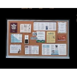 Ghent - 1323-1 - Bulletin Board, Cork, 24H x 36W In.
