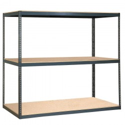 Edsal - 1205-S1 - 36 x 36 Shelf, Gray; For Use With High-Capacity Reinforced Shelving