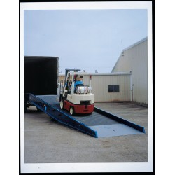 Bluff - 20SYS7036L - Yard Ramp Portable Steel 70 In Wx36 Ft L 20000 Pound 5327 Pound Bluff Mfg. Inc., Ea