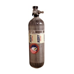Scott / Tyco - 200130-01 - SCBA Cylinder, Carbon Wrapped, Gray