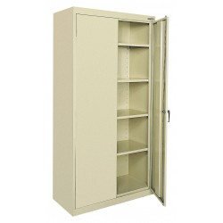 Sandusky Lee - CA41361872-07 - Storage Cabinet, Putty, 72 Overall Height, Assembled