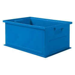 SSI Schaefer - 1462.191308BL1 - Straight Wall Container, Blue, 8H x 19L x 13W, 1EA