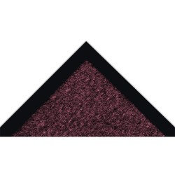 Notrax - 130S0046BD - Burgundy Decalon Fiber, Entrance Mat, 4 ft. Width, 6 ft. Length