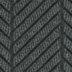 Andersen Company - 2271 BLACK 8X10 - Black Smoke Recycled PET Polyester Fiber, Entrance Mat, 8 ft. Width, 10 ft. Length