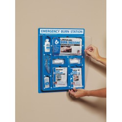 Water-Jel - EBSL5 - Plastic Burn Care Station, Blue; People Served: 1 to 6