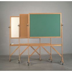 Ghent - RMK46 - Combination Bulletin Board, 4x6 ft.