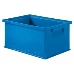 SSI Schaefer - 1463.130906BL1 - Straight Wall Container, Blue, 6H x 13L x 9W, 1EA