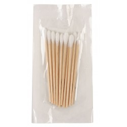 Medique - 60474 - Non-Sterile Single-Tip Cotton Tip Swab with Wood Handle, 3L, 10 PK