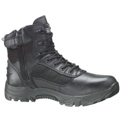 Weinbrenner Shoe - 834-6218 7W - 6H Men's Work Boots, Plain Toe Type, Leather and Nylon Upper Material, Black, Size 7