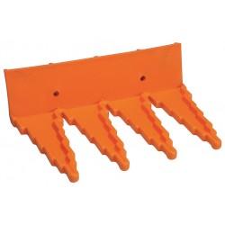 Vikan - 06157 - Hygienic Tool Hanger, Orange