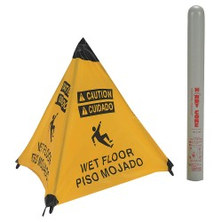 Accuform Signs - 17194I - Accident Prevention, Caution, Nylon, 18