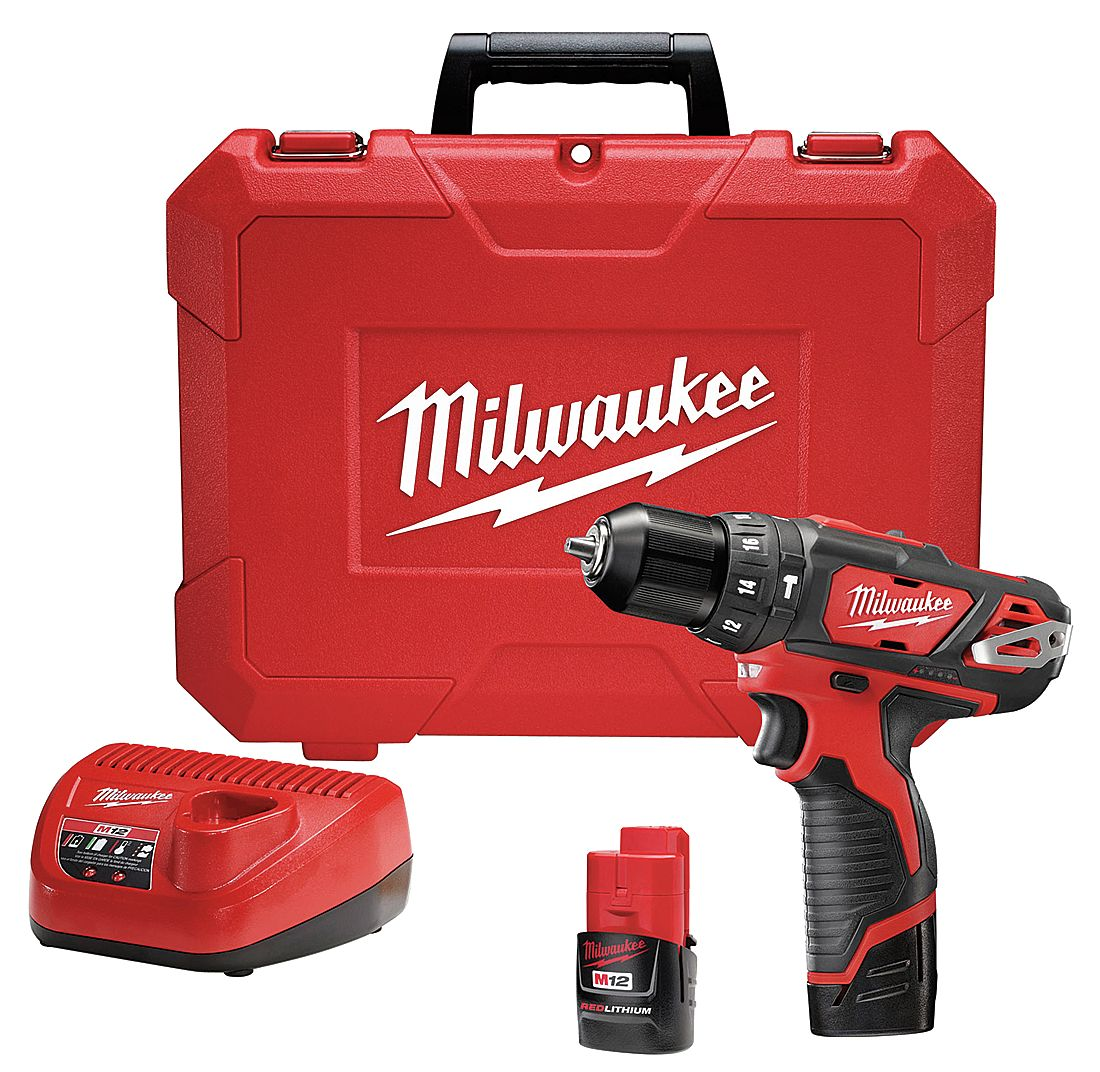 Milwaukee Electric Tool - 2408-22 - Cordless Hammer Drill/Driver Kit, 12.0V at Sears.com