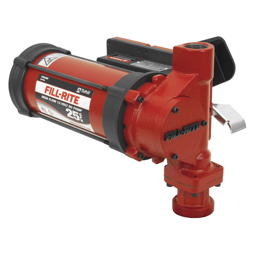Fill-Rite - FR3204 - High Flow Fuel Transfer Pump, 25gpm, 12VDC