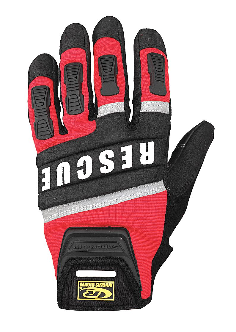Ringers Gloves - 345-11 - Rescue Gloves, Cut Resistant, XL, Red, PR at Sears.com