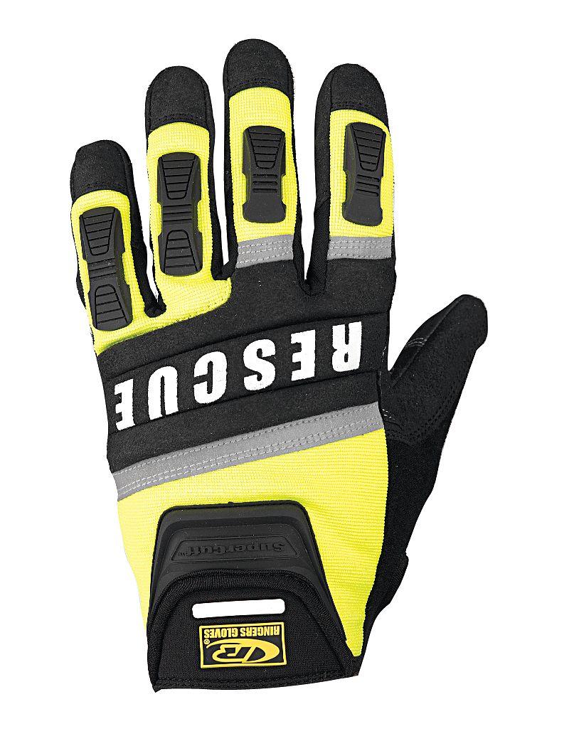Ringers Gloves - 347-12 - Glove, Rescue, Cut Resistant, 2XL, Hi-Vis, Pr