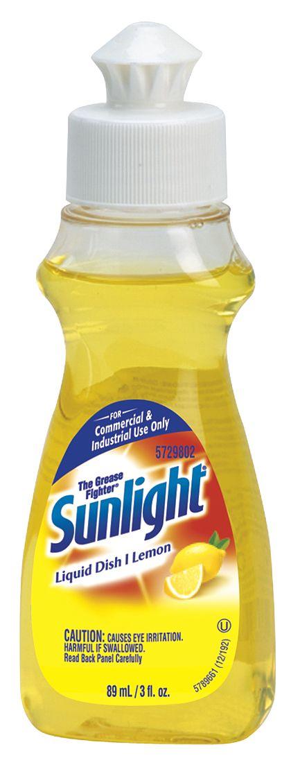 Johnson Diversey - 5729802 - Liquid Dish Detergent, Lemon Scent, 3 oz Bottle, 90/CT at Sears.com