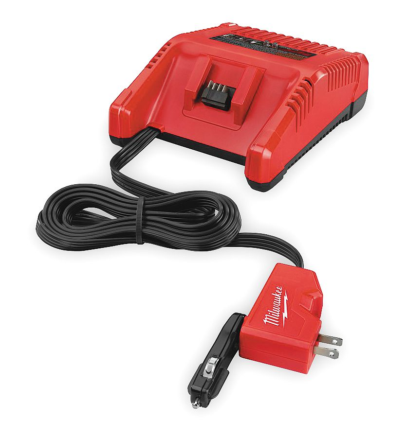 Milwaukee Electric Tool - 2710-20 - Battery Charger, 18.0V, Li-Ion