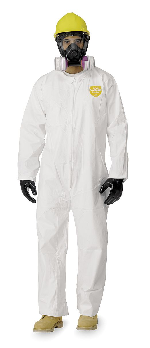DuPont - NG120SWHMD002500 - DuPont ProShield NexGen Coveralls Straight Wrists and Ankles, with Collar (Case of 25) at Sears.com